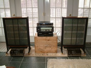 Quad ESL63 and Luxman 3045 - 1